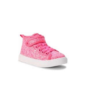 Other - Glitter High-top Athletic Sneaker Hot Pink NWT